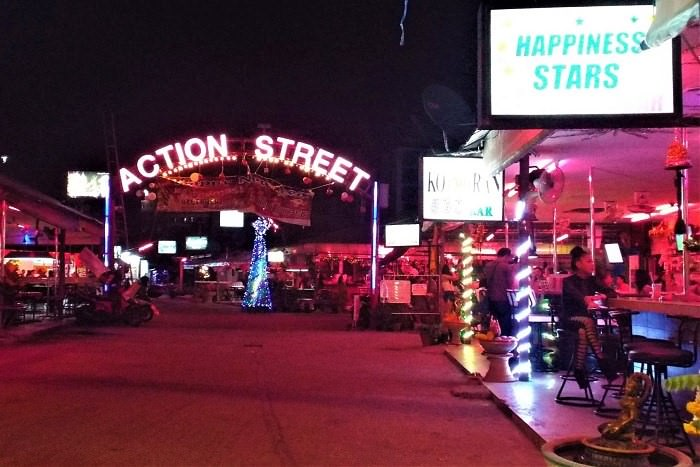 Action Street Pattaya
