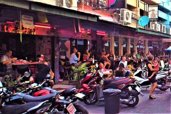 Thailand bars