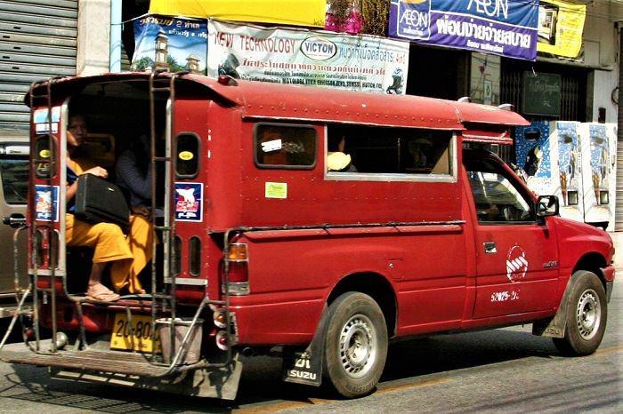 Chiang Mai baht bus