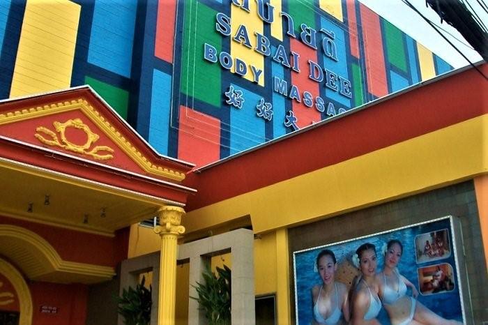 Thai happy ending massage parlor