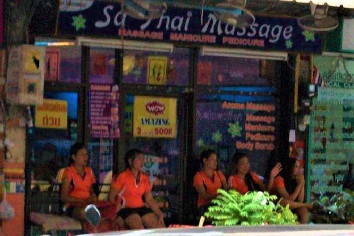Pattaya massage girls
