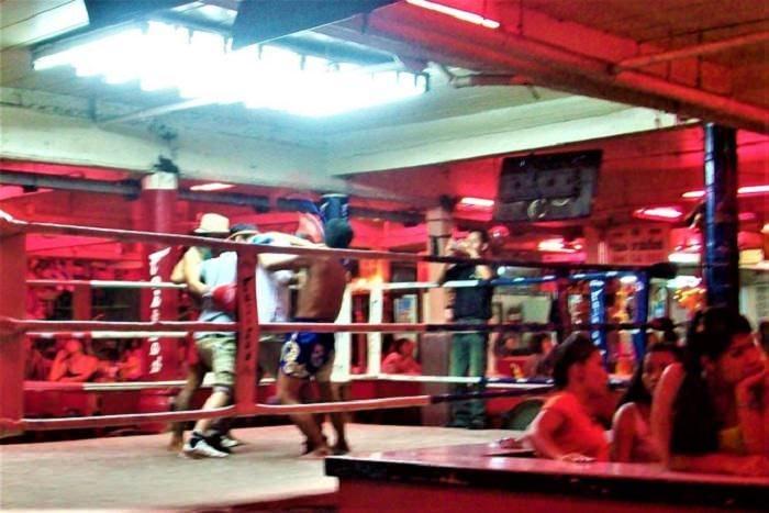 Pattaya Thai boxing shows