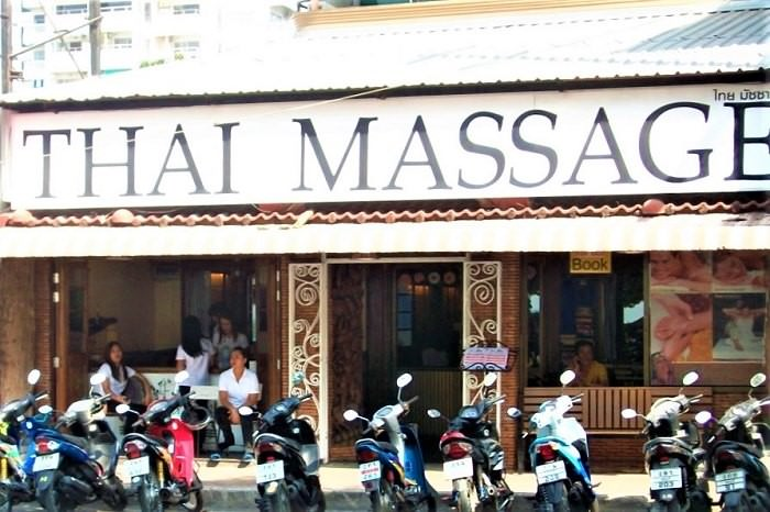 Thai massage in Pattaya
