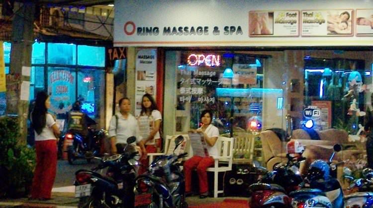 Pattaya massage parlour