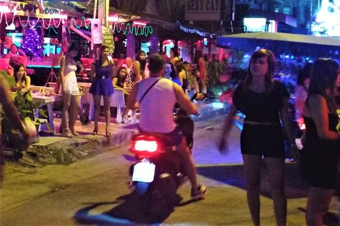 Sex workers in Pattaya