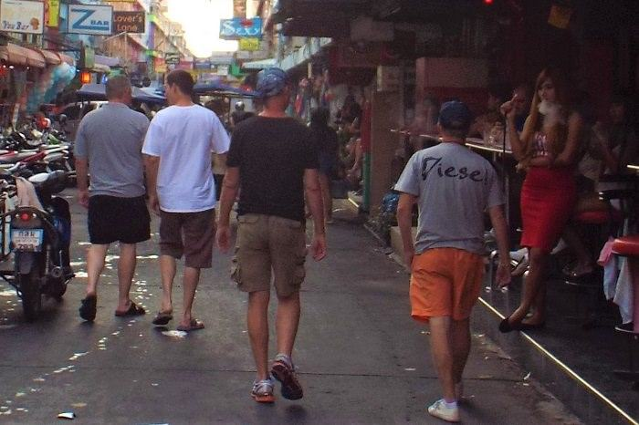 Sex workers on Soi 6