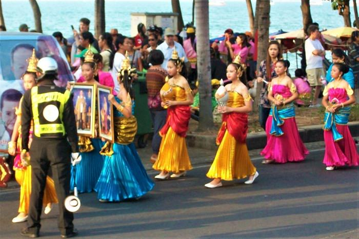 Thailand street parade
