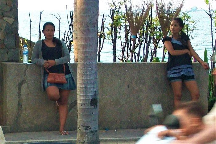 Pattaya beach prostitutes