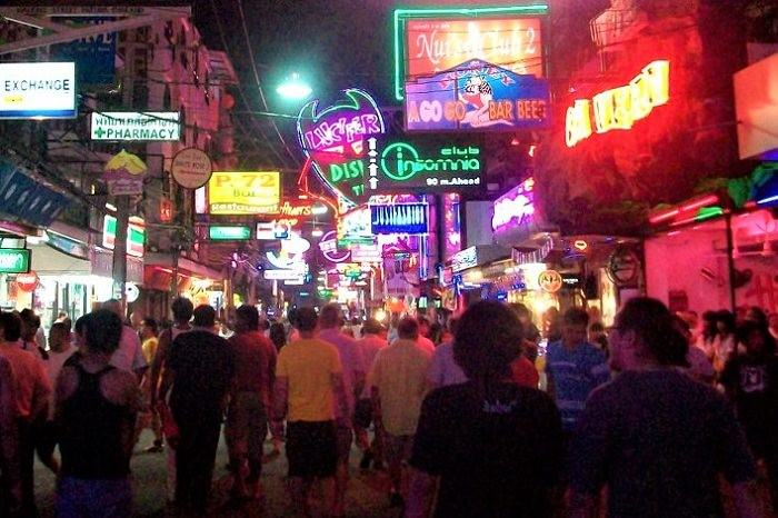Walking Street nightclubs