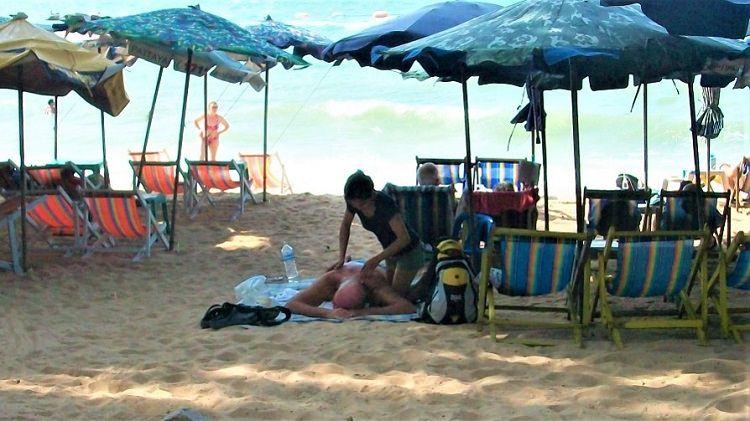 Pattaya Beach Massage