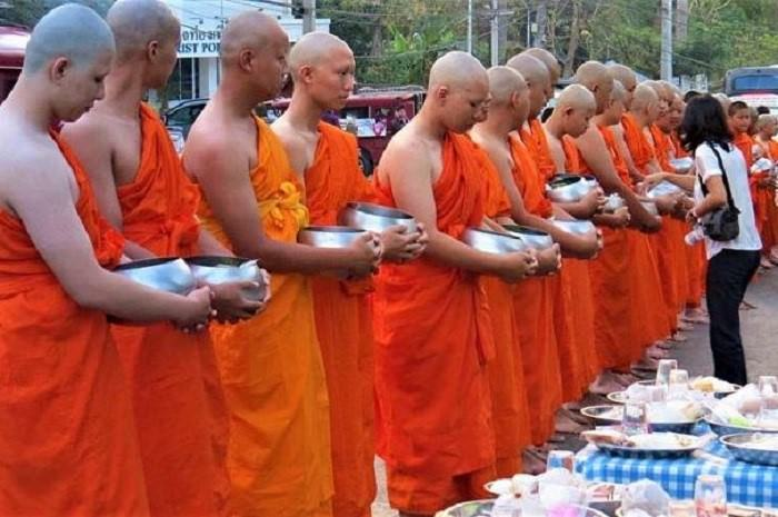 Buddhist monks in Thailand