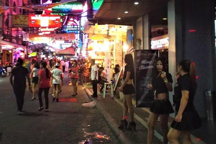 A-Go-Go girls in Pattaya